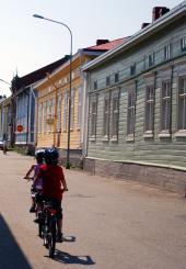 Cykeltur i Kristinestad